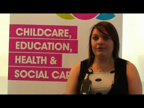 EDC Childcare, Education, Health & Social Care courses video (East Durham College)