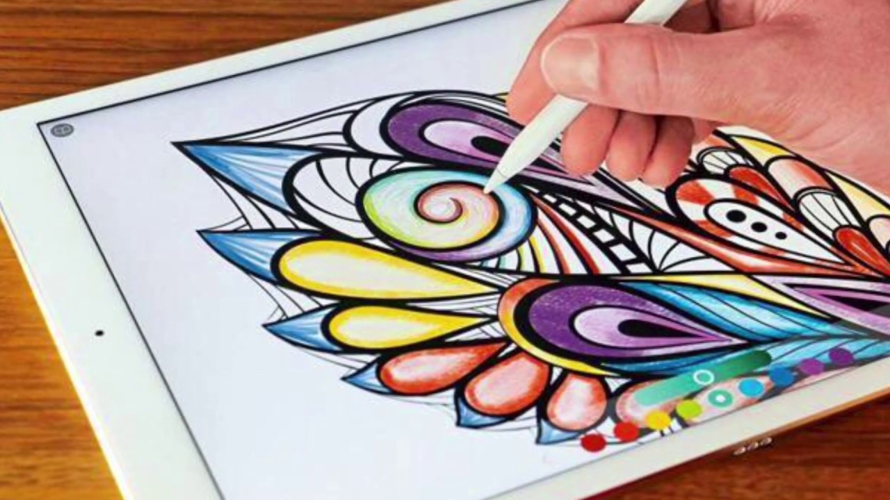 Coloring book for notability - How To Apple Pencil Use
