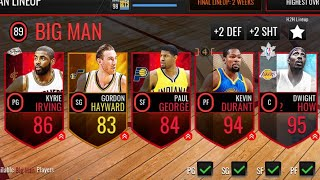 SNAKE TEAM 🐍🐍🐍 (UNLOYAL PLAYERS) | NBA LIVE MOBILE!
