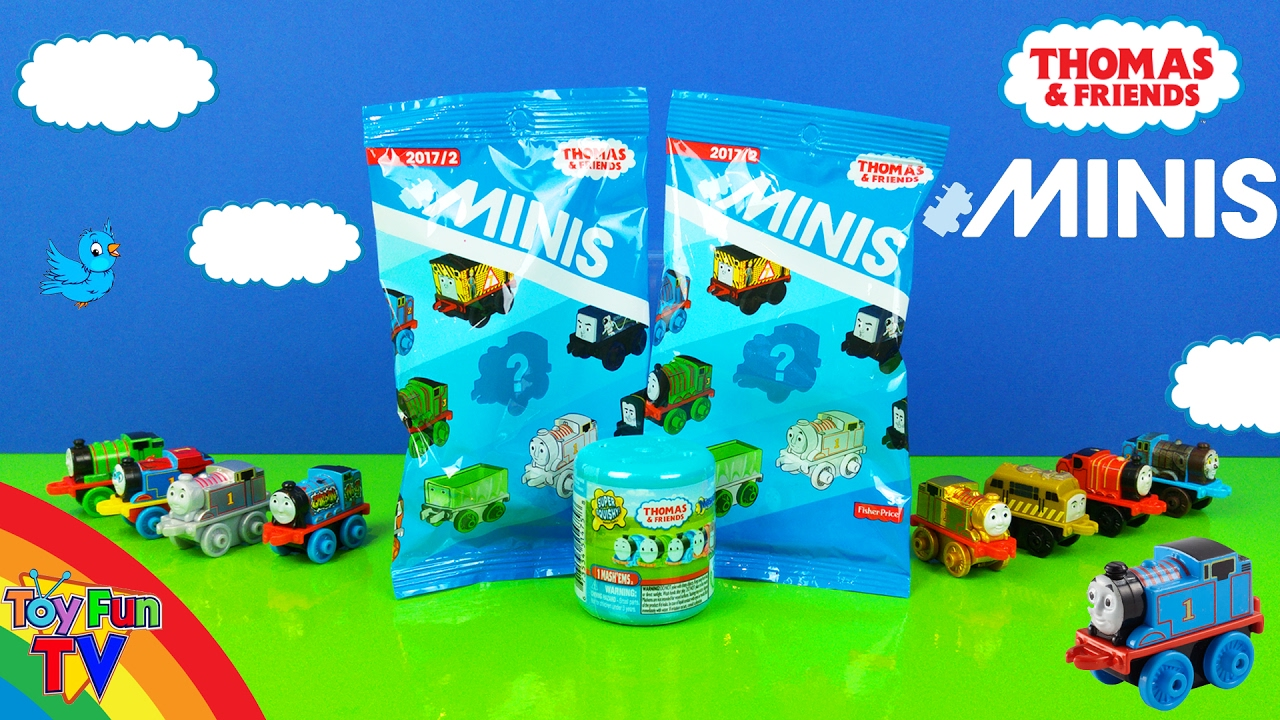 Thomas and Friends MINIS 2017 BLIND BAGS CODES OPEN SURPRISES Toy Trains MASHEM