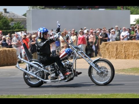 Easy Rider, Peter Fonda on a Captain America 2013