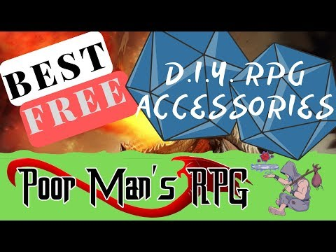 D&D D.I.Y. RPG Accessories!
