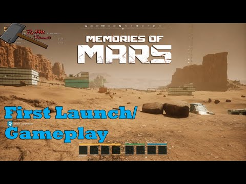 Memories of Mars: First Launch and Gameplay |