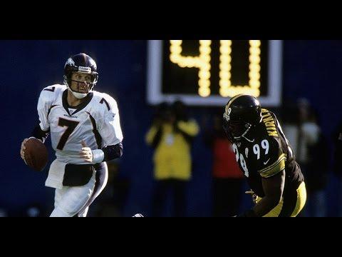 1997 WK 20 AFC Championship Denver Broncos (14-4) @ Pittsburgh Steelers (12-5)