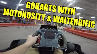 Go-Kart Triple Vlog With Motonosity & Walterrific (Race 2/3) | #TXMEETUP15