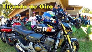 XJ6 #Motos tirando de Giro no Extreme Moto Show