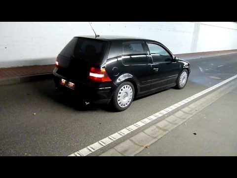 golf iv v6 4motion mit r32 auspuff ab kat tunnel youtube. Black Bedroom Furniture Sets. Home Design Ideas