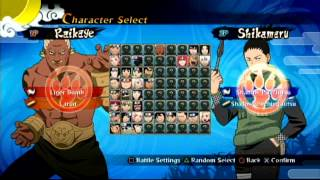 Naruto Shippuden: Ultimate Ninja Storm Generations - First Impressions (Gameplay Commentary)