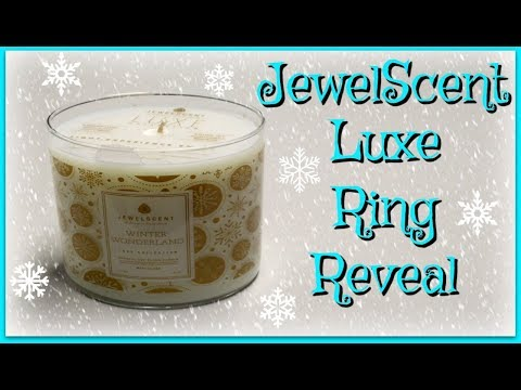 JewelScent Ring Reveal - Winter Wonderland Luxe Candle!