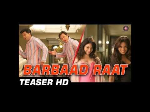 Barbaad Raat Official Video Film | Humshakals | Saif, Ritiesh, Bipasha, Tamannah | 1080p - HD
