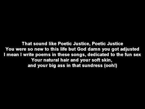Kendrick Lamar - Poetic Justice (Explicit) ft. Drake - Lyrics - Official Video