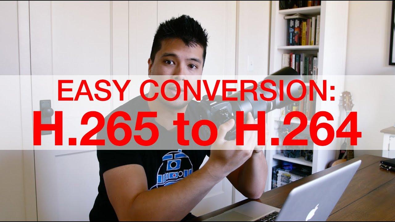 convert hevc to mp4