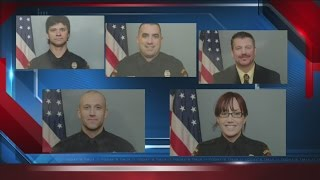 Five Kenosha police officers head to New York for funeral of officer killed in squad car