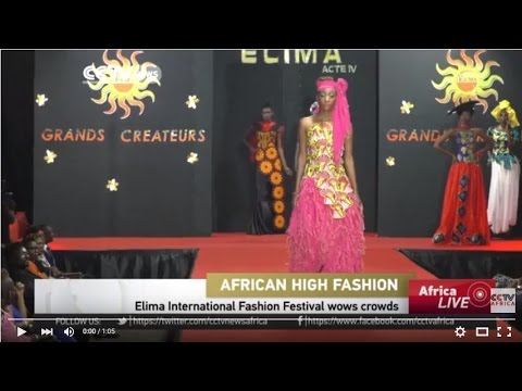 African Fashion designs showcased in Togo