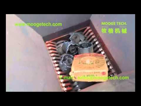 Pallet shredder,plastic shredder,double shaft shredder,two shaft shredder 2