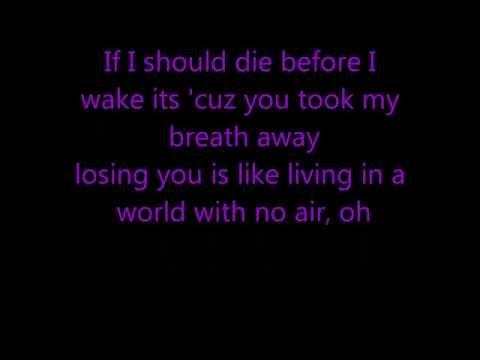No Air - Jordin Sparks feat. Chris Brown
