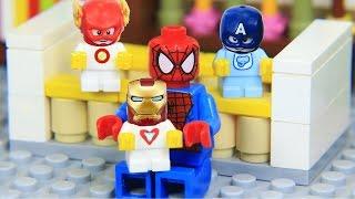Lego Superhero Avengers Spider Man Babysitter
