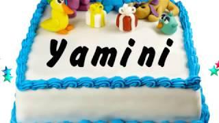 Happy Birthday Yamini | Whatsapp Status Yamini