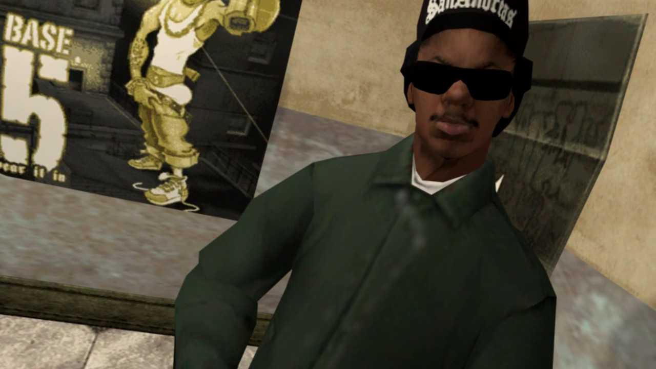 Gta San Andreas First Person Mode Cutscene Ryder Youtube