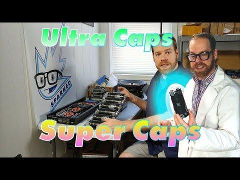 Ultra Capacitors in Car Audio