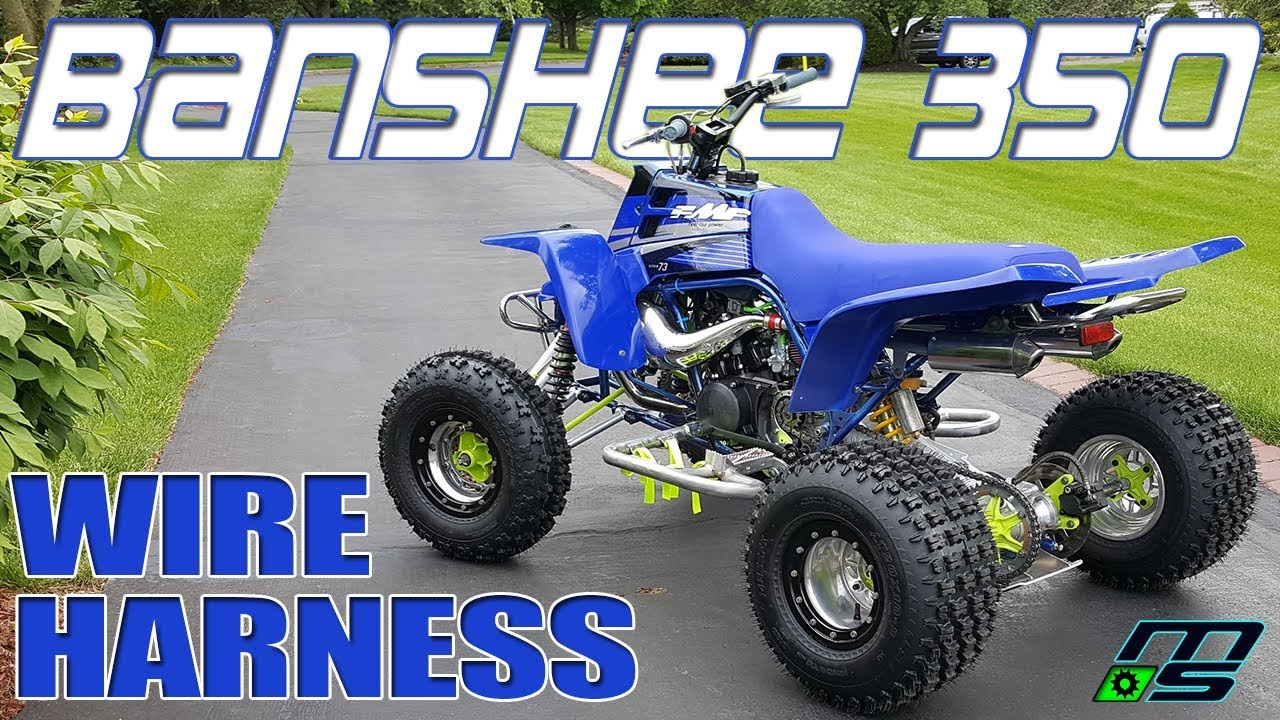 hight resolution of yamaha banshee wire harness mod and install
