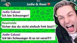 Sie ist Schwanger!? 😂 YouTuber WhatsApp Fails