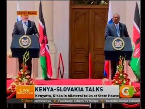 Kenya - Slovakia Talks