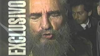 Reportera le Dice las Verdades a Fidel Castro en su Cara