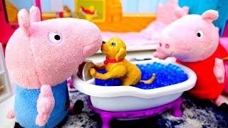 Пеппа и Джордж нашли щенка - Игрушки Свинка Пеппа - Домашний питомец