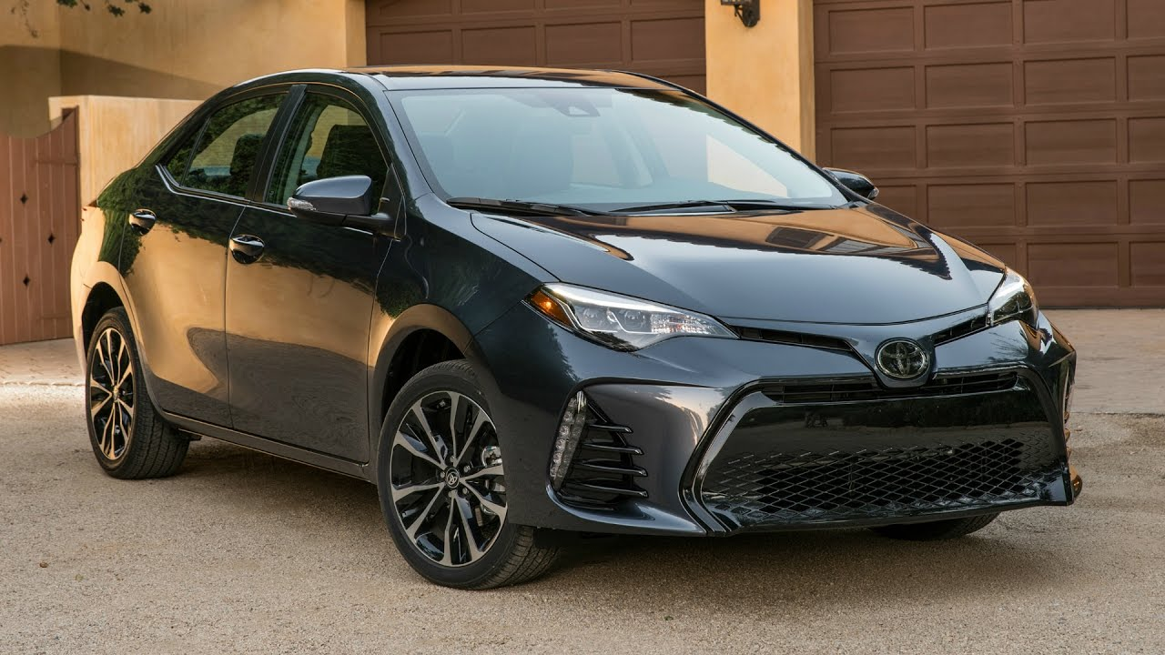 2017 toyota corolla xse drive interior and exterior. Black Bedroom Furniture Sets. Home Design Ideas
