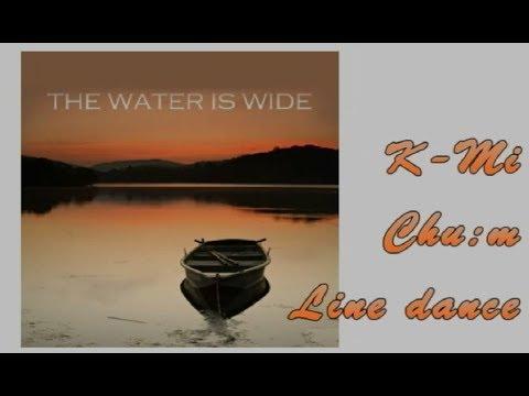 The Water Is Wide Line Dance (Dance & Walkthrough)