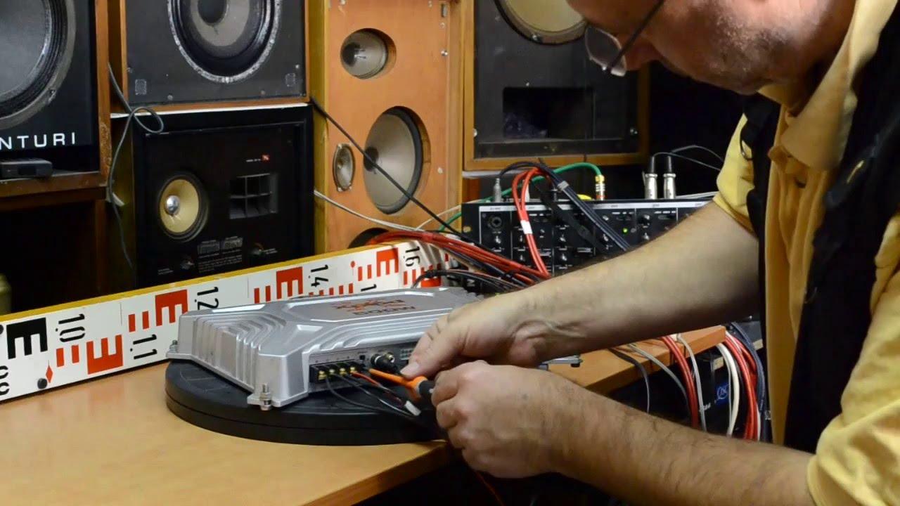 SONY Xplod XM-504Z Car Amplifier Power Amp Endstufe wzmacniacz front L,R
