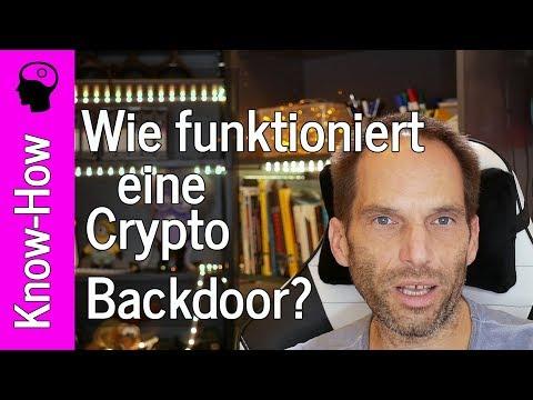 Crypto-Backdoors, Browser Abhören und Zertifikate-Unsinn