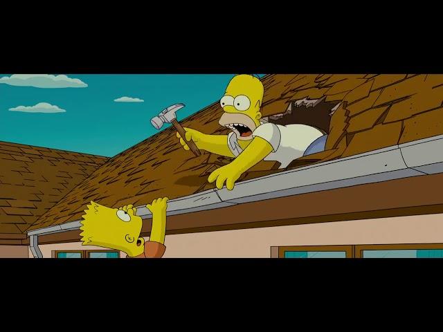 The Simpsons Movie Best Scene David Silverman Homer Simpson Bart Simpson Youtube