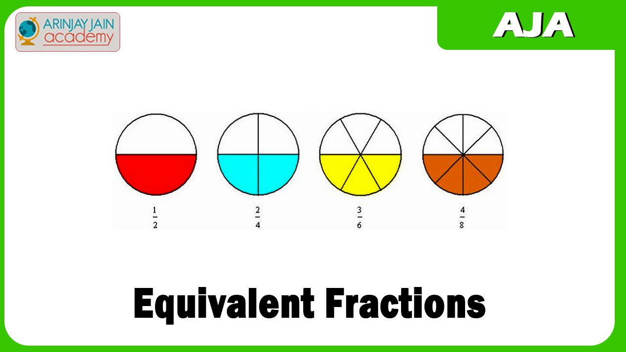 Worksheet How To Complete Equivalent Fractions how to complete equivalent fractions scalien youtube