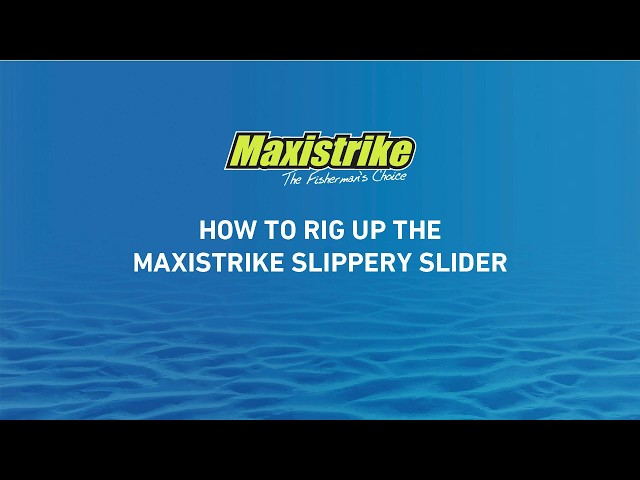 Learn how to rig up Maxistrike Slippery Slider Lures