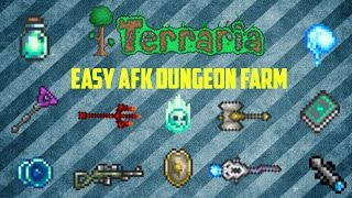 Terraria ios 1.2.4 | AFK Dungeon Farm/Ectoplasm farm (Working 2016)