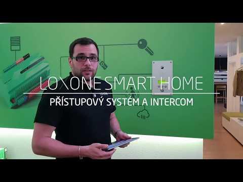 Chytrý intercom odemkne elektronický zámek a deaktivuje alarm | Loxone momentka