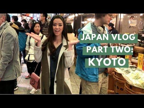Japan VLOG part 2: KYOTO | Yukata, Nishiki Market, Arashiyama