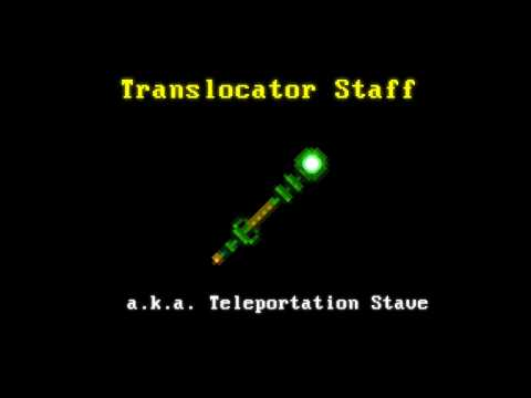 Translocator Staff - Starbound Mod
