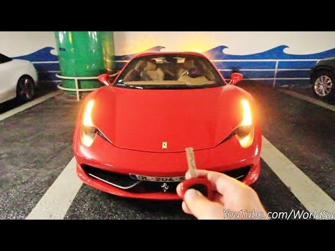 Ferrari 458 Spider LOUD RUN! Drive it Like You Stole It