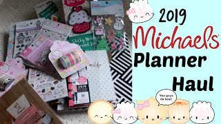 MICHAELS HAUL!!! NEW PLANNER SUPPLIES FOR THE NEW YEAR
