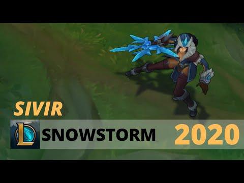 Snowstorm Sivir 2020 - League Of Legends