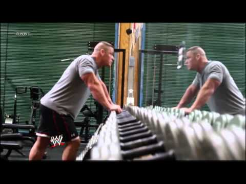 John Cena's ready for Wrestlemania XXVIII[HD 720p]