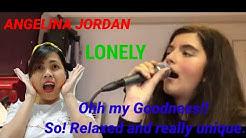 ANGELINA JORDAN(Norway)- LONELY) Rehearsal( My Reaction👏)