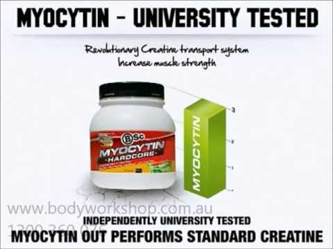 BSc Myocytin Hardcore Increase Muscle Strength Creatine Retention   - BodyWorkshop.com.au