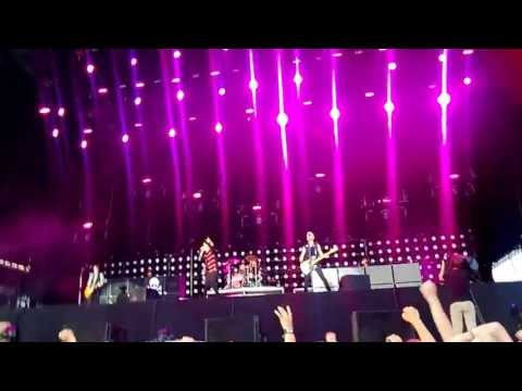 Green Day - Oh Love + Holiday - Live @ Rock the Beach, Helsinki, 26.6.2013