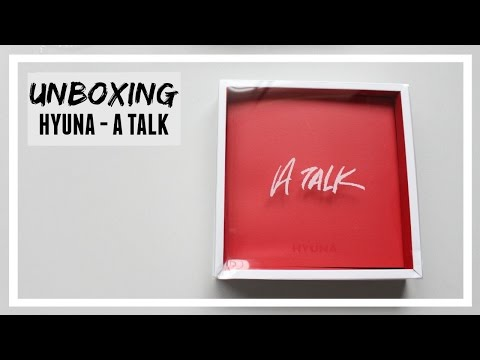 UNBOXING: HYUNA - A.TALK // MLSS