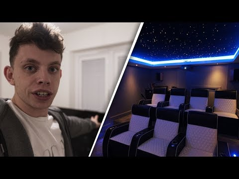 PLANNING MY HOME CINEMA ROOM!!