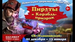 """Цирковое водное шоу """"Пираты и Корабль-призрак"""""""
